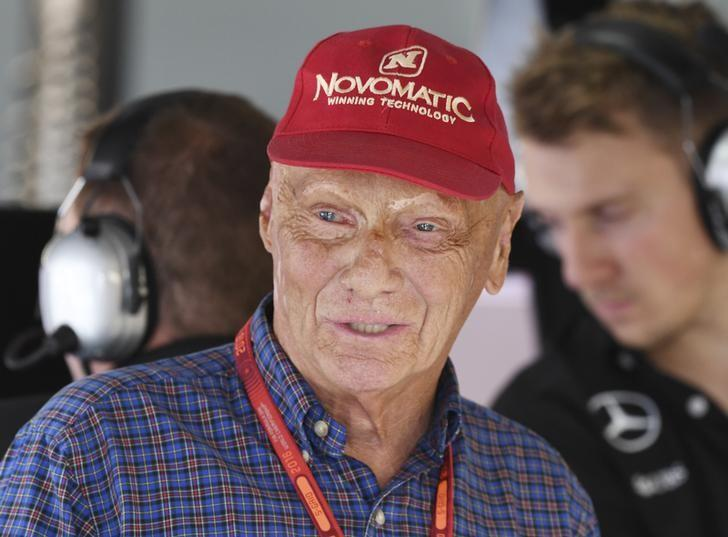 Germany Formula One - F1 - German Grand Prix 2016 - Hockenheimring, Germany - 30/7/16 - Niki Lauda during the qualifying.  REUTERS/Uli Deck/Pool