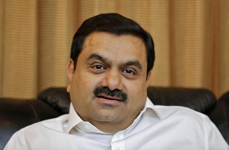 Indian billionaire Gautam Adani speaks during an interview with Reuters at his office in the western Indian city of Ahmedabad in this April 2, 2014 file photo.    REUTERS/Amit Dave/File Photo