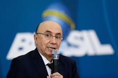 Ministro da Fazenda, Henrique Meirelles, no Palácio do Planalto, em Brasília.    21/12/2016 REUTERS/Ueslei Marcelino