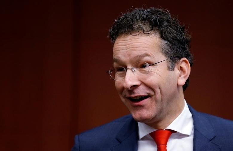 Dutch Finance Minister and Eurogroup President Jeroen Dijsselbloem arrives at a euro zone finance ministers meeting in Brussels, Belgium December 5, 2016. REUTERS/Francois Lenoir