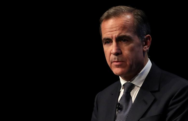 Bank of England Governor Mark Carney delivers the Liverpool John Moores University's Roscoe Lecture, at the BT Convention Centre in Liverpool, Britain December 5, 2016. REUTERS/Peter Byrne/Pool