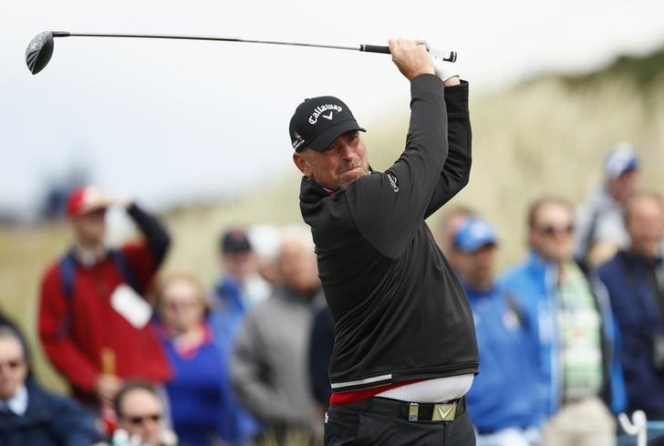 Britain Golf - Aberdeen Asset Management Scottish Open - Castle Stuart Golf Links, Inverness, Scotland - 7/7/16Denmark's Thomas Bjorn during the first roundAction Images via Reuters / Jason Cairnduff/ Livepic/ Files