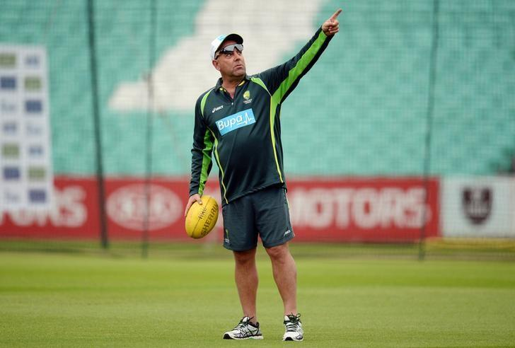 Cricket - Australia Nets - Kia Oval - 18/8/15Australia coach Darren Lehmann during the training sessionAction Images via Reuters / Philip BrownLivepic