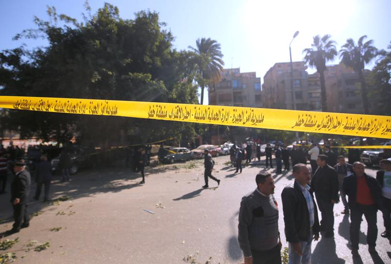 Egypt security forces hit by two bombings in a single day