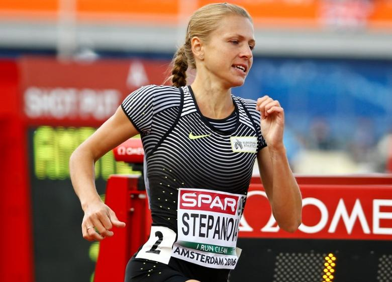 Athletics - European championships - Women's 800m qualifiaction - Amsterdam - 6/7/16 Yulia Stepanova of Russia competes. REUTERS/Michael Kooren/Files