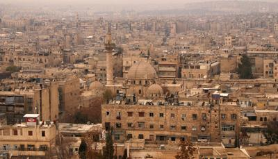 Aleppo then and now