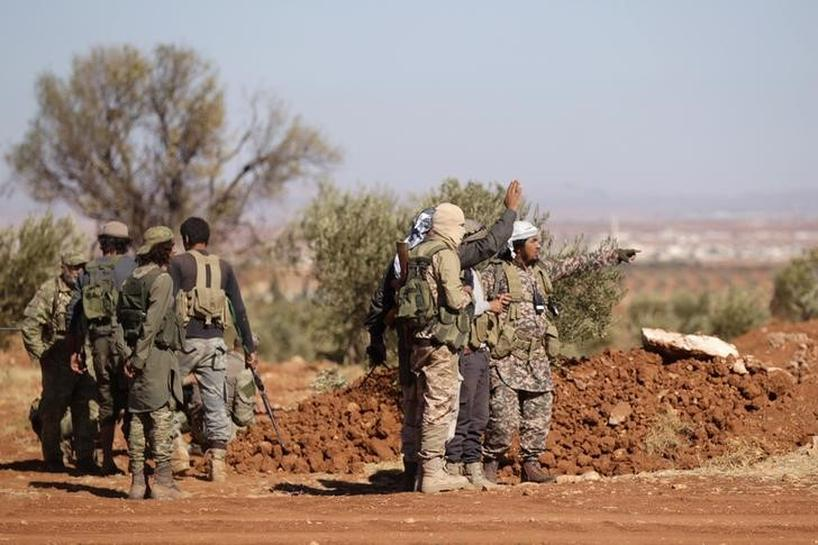 Turkey-backed rebels close in on Islamic State-held Syrian city al-Bab