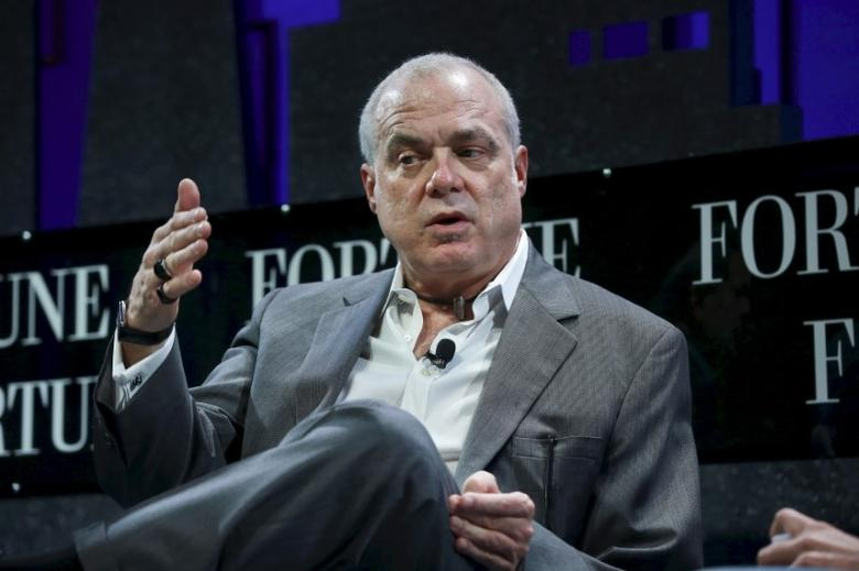 Mark Bertolini, Chairman and CEO of Aetna, participates in a panel discussion at the 2015 Fortune Global Forum in San Francisco, California November 3, 2015. REUTERS/Elijah Nouvelage