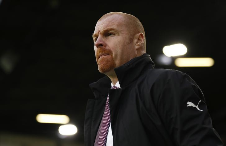 Football Soccer Britain - Burnley v AFC Bournemouth - Premier League - Turf Moor - 10/12/16 Burnley manager Sean Dyche Action Images via Reuters / Jason Cairnduff/ Livepic
