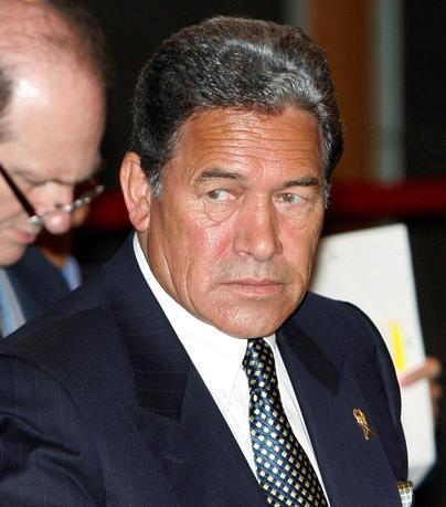 New Zealand's Foreign Minister Winston Peters attends a meeting at the 40th Association of Southeast Asian Nations (ASEAN) Ministerial meeting in Manila in this August 1, 2007 file photo.       REUTERS/Cheryl Ravelo/File Photo