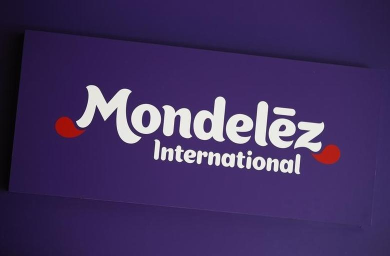 The logo of Mondelez International is pictured at the company's building in Zurich November 14, 2012. REUTERS/Michael Buholze