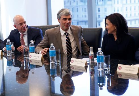 Trump meets with Silicon Valley elite