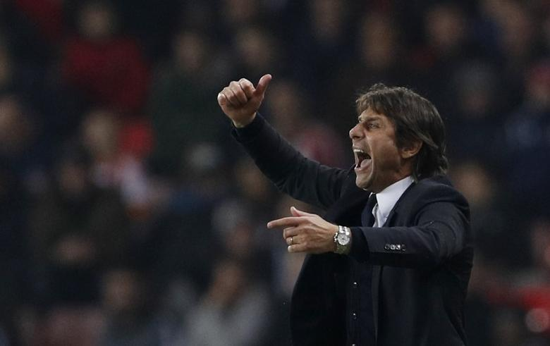Chelsea manager Antonio Conte. Sunderland v Chelsea - Premier League - The Stadium of Light - 14/12/16.   Action Images via Reuters / Lee Smith Livepic