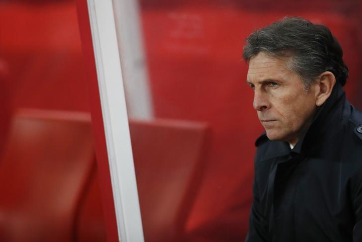 Britain Football Soccer - Stoke City v Southampton - Premier League - bet365 Stadium - 14/12/16 Southampton manager Claude Puel before the match Action Images via Reuters / Carl Recine Livepic