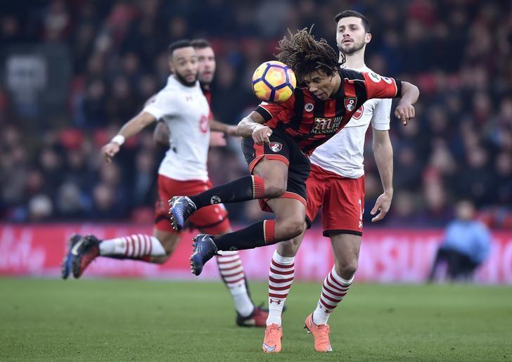 Britain Football Soccer - AFC Bournemouth v Southampton - Premier League - Vitality Stadium - 18/12/16 Bournemouth's Nathan Ake in action Reuters / Hannah McKay Livepic