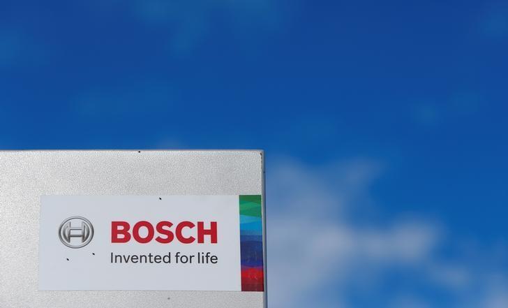 A Bosch logo is pictured in Renningen near Stuttgart, Germany July 29, 2016. REUTERS/Michaela Rehle/Files
