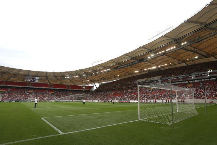 Football - VfB Stuttgart v Manchester City - Pre Season Friendly - The Mercedes-Benz Arena, Stuttgart, Germany - 15/16 - 1/8/15General view inside the stadium before the matchAction Images via Reuters / John Marsh/ Files