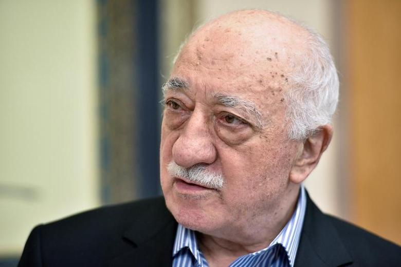 FILE PHOTO: U.S. based cleric Fethullah Gulen at his home in Saylorsburg, Pennsylvania, U.S. July 29, 2016.  REUTERS/Charles Mostoller/File Photo