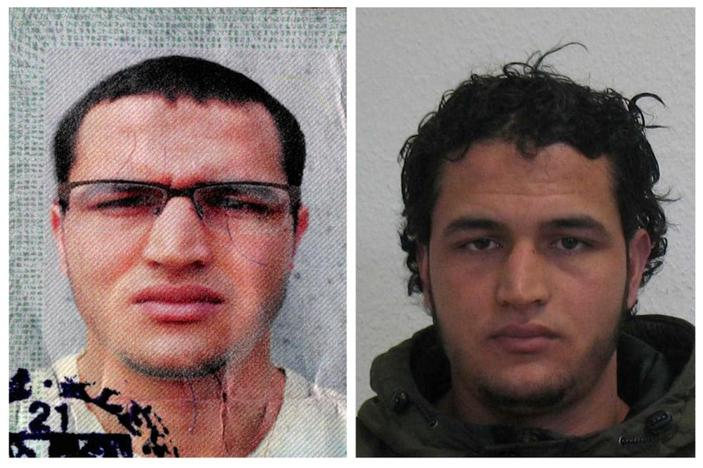 Anis Amri in a combination image released by German police. REUTERS/BKA