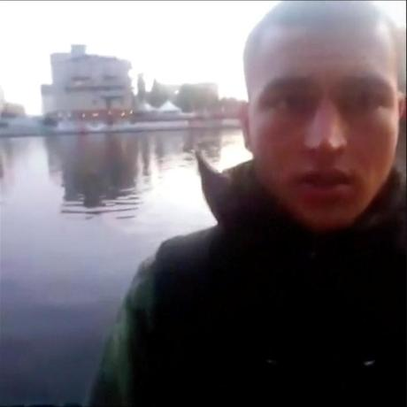 A still image taken from a short 'selfie' video clip from a social media website purportedly shows Anis Amri, the Tunisian suspect of the Berlin Christmas market attack, at an unknown location. Social Media/via Reuters TV/Files