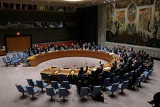 صورة من أرشيف رويترز لأحد اجتماعات مجلس الأمن في نيويورك.