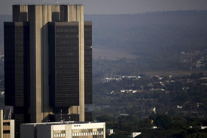 A view is seen of the central bank headquarters in Brasilia, Brazil, September 23, 2015. REUTERS/Ueslei Marcelino