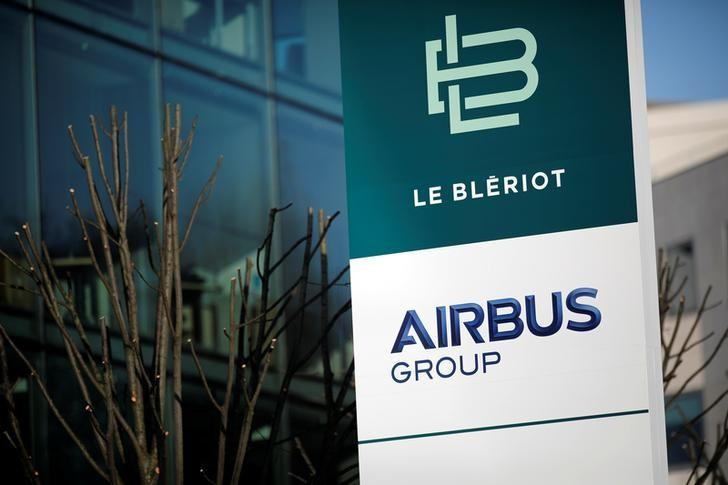 A picture shows Airbus Groupe site in Suresnes, near Paris, France, December 15, 2016. REUTERS/Benoit Tessier