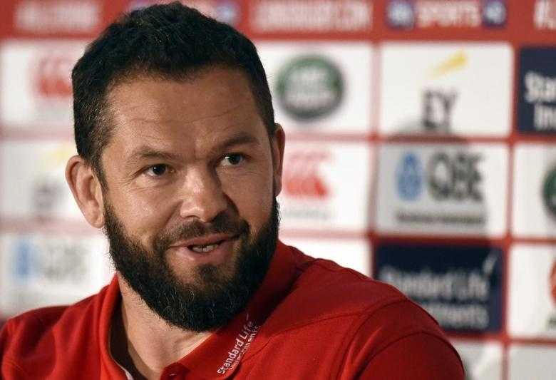 British & Irish Lions coach Andy Farrell Reuters / Clodagh Kilcoyne Livepic
