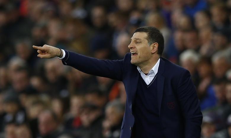 West Ham United manager Slaven Bilic  Action Images via Reuters / Peter Cziborra