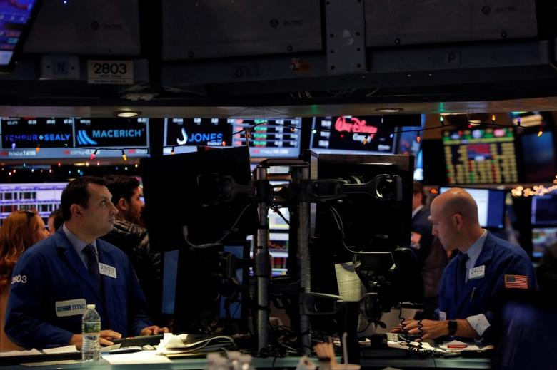 Strong data health stocks lead wall st higher reuters for 14 wall street 23rd floor
