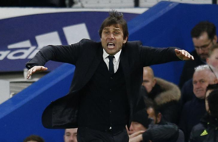 Britain Soccer Football - Chelsea v AFC Bournemouth - Premier League - Stamford Bridge - 26/12/16 Chelsea manager Antonio Conte  Reuters / Peter Nicholls Livepic