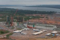 Vista aérea do local de construção da usina hidrelétrica de Belo Monte em Pimental, próximo de Altamira no Estado do Pará, no Brasil 23/11/2013  REUTERS/Paulo Santos