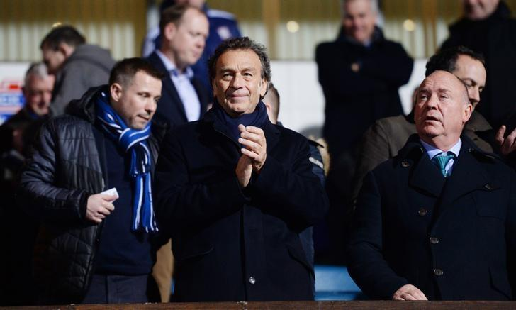 Football Soccer - Ipswich Town v Leeds United - Sky Bet Football League Championship - Portman Road - 12/1/16Leeds owner Massimo Cellino before the matchMandatory Credit: Action Images / Tony O'BrienLivepic/File Photo
