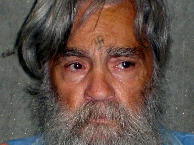 File Photo: Convicted mass murderer Charles Manson is shown in this handout picture from the California Department of Corrections and Rehabilitation dated June 16, 2011 and released to Reuters April 8, 2012.  REUTERS/CDCR/Handout via REUTERS/File Photo