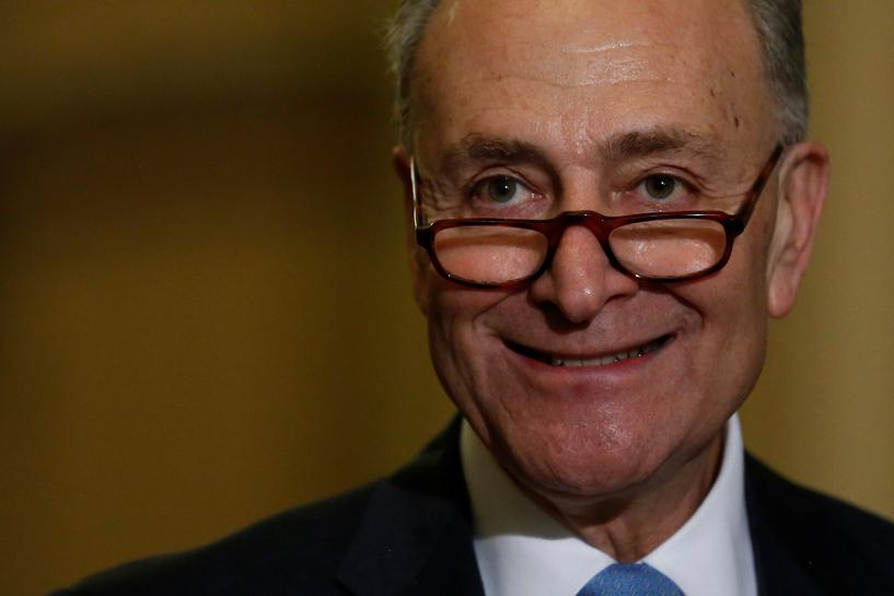 Democratic leader Schumer emerges as Trump's newest punching bag