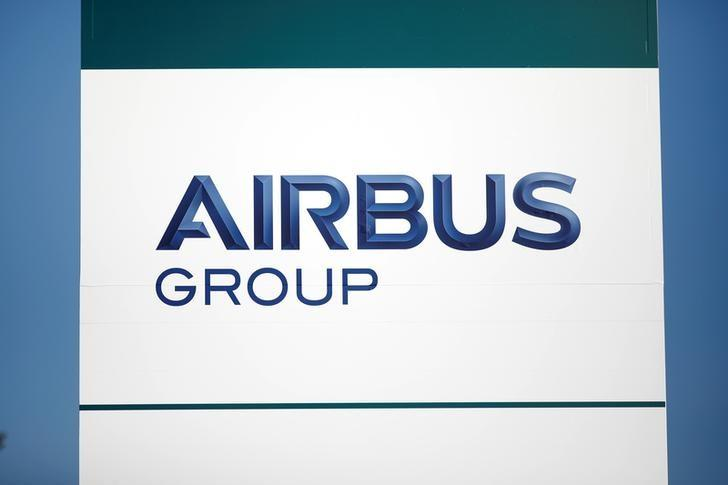 A picture shows the logo of Airbus Group at the site in Suresnes, near Paris, France, December 15, 2016. REUTERS/Benoit Tessier
