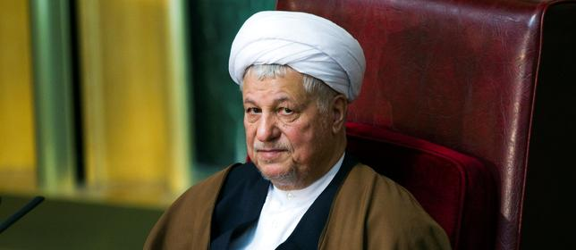 FILE PHOTO: Former Iranian president Akbar Hashemi Rafsanjani attends Iran's Assembly of Experts biannual meeting in Tehran, Iran March 8, 2011. REUTERS/Raheb Homavandi
