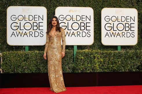 Priyanka Chopra at the Golden Globes