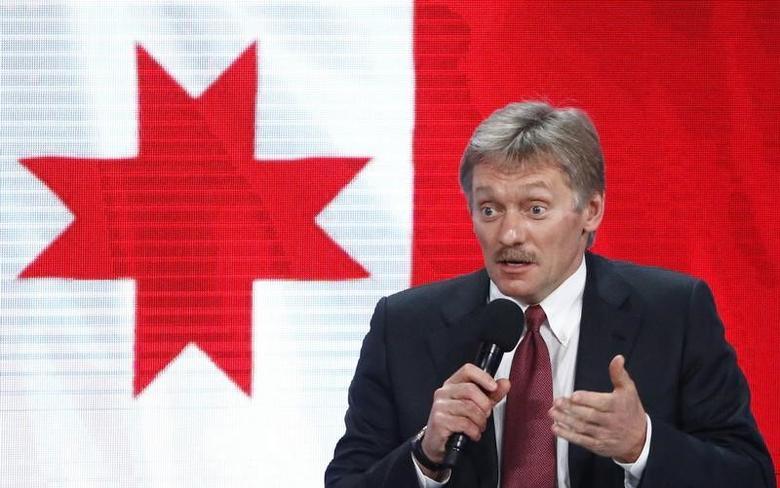 Kremlin spokesman Dmitry Peskov speaks during the annual end-of-year news conference of Russian President Vladimir Putin in Moscow, Russia, December 23, 2016.  REUTERS/Sergei Karpukhin