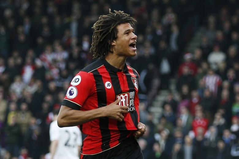 Britain Football Soccer - AFC Bournemouth v Southampton - Premier League - Vitality Stadium - 18/12/16 Bournemouth's Nathan Ake celebrates scoring their first goal Action Images via Reuters / Andrew Couldridge/Livepic