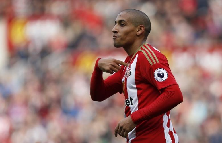 Sunderland's Wahbi Khazri after they had a goal disallowedReuters / Russell Cheyne