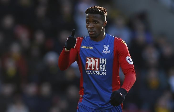 Britain Soccer Football - Watford v Crystal Palace - Premier League - Vicarage Road - 26/12/16 Crystal Palace's Wilfried Zaha  Action Images via Reuters / Paul Childs Livepic