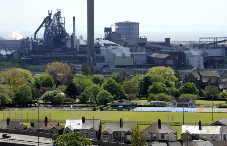 The Tata Steel plant is seen in Port Talbot, South Wales May 31, 2013. Port Talbot steelworks is the UK largest steel producing plant by volume, with output of about 4.5 million tonnes per year. REUTERS/Rebecca Naden