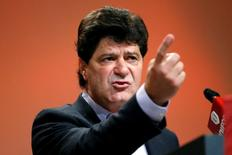 Unifor President Jerry Dias speaks during the Unifor convention in Ottawa, Ontario, Canada on August 24, 2016. REUTERS/Chris Wattie/File Photo