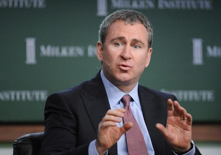 Kenneth Griffin, Founder, President and CEO, Citadel Investment Group LLC, speaks during the ''Financial Recovery: When and How?'' panel at the 2009 Milken Institute Global Conference in Beverly Hills, California April 27, 2009. REUTERS/Phil McCarten