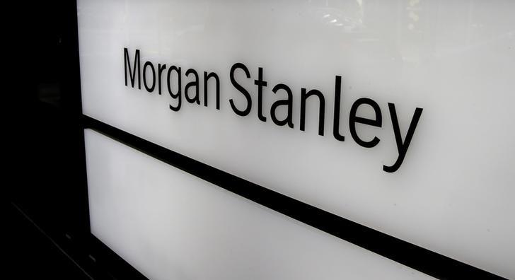 FILE PHOTO -  The logo of Morgan Stanley is seen at an office building in Zurich, Switzerland September 22, 2016.  REUTERS/Arnd Wiegmann/File Photo