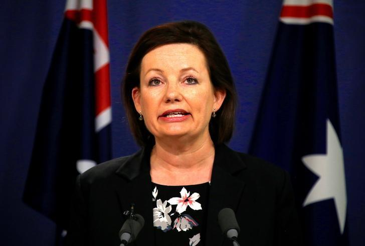 Sussan Ley, Australia's Minister for Sport, speaks during a media conference in Sydney, Australia, July 25, 2016.    REUTERS/David Gray
