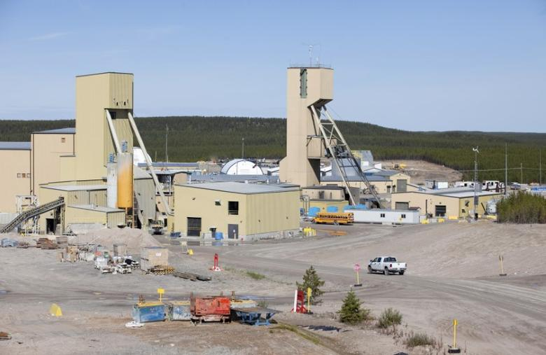 A view of Cameco's Cigar Lake uranium mine site in northern Saskatchewan September 3, 2010. REUTERS/David Stobbe