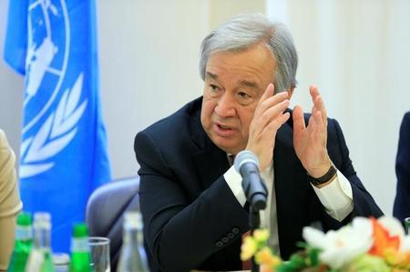 """جوتيريش يتعهد بإصلاح الأمم المتحدة وإحداث """"طفرة"""" دبلوماسية"""