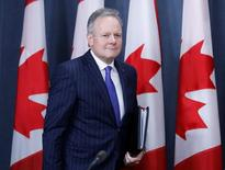 Bank of Canada Governor Stephen Poloz arrives at a news conference upon the release of the Financial System Review in Ottawa, Ontario, Canada, December 15, 2016. REUTERS/Chris Wattie